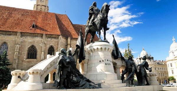Kolozsvári Mátyás szobor